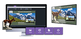logiciel d'affichage dynamique, applicatif tactile, solution d'affichage métier, PLV dynamique, contenu, intégration de flux